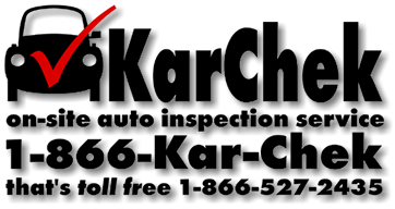 Karchek on-site auto inspection service logo
